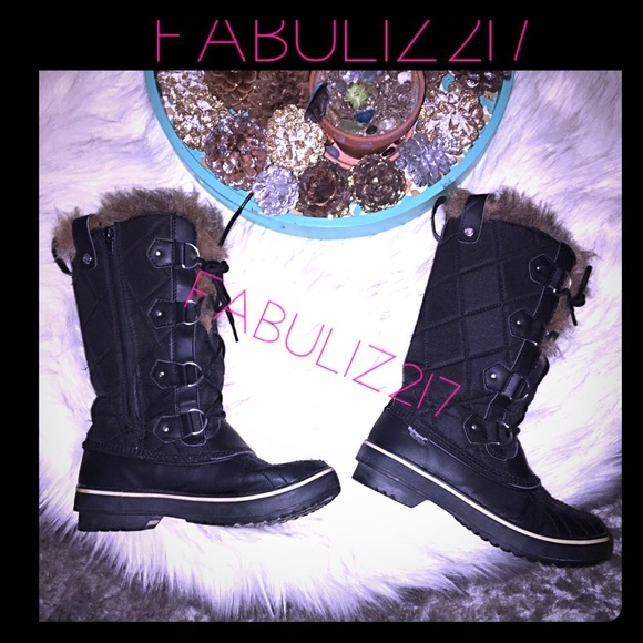 buy online 60% cheap top-rated official Tall highlander faux fur waterproof snow boots